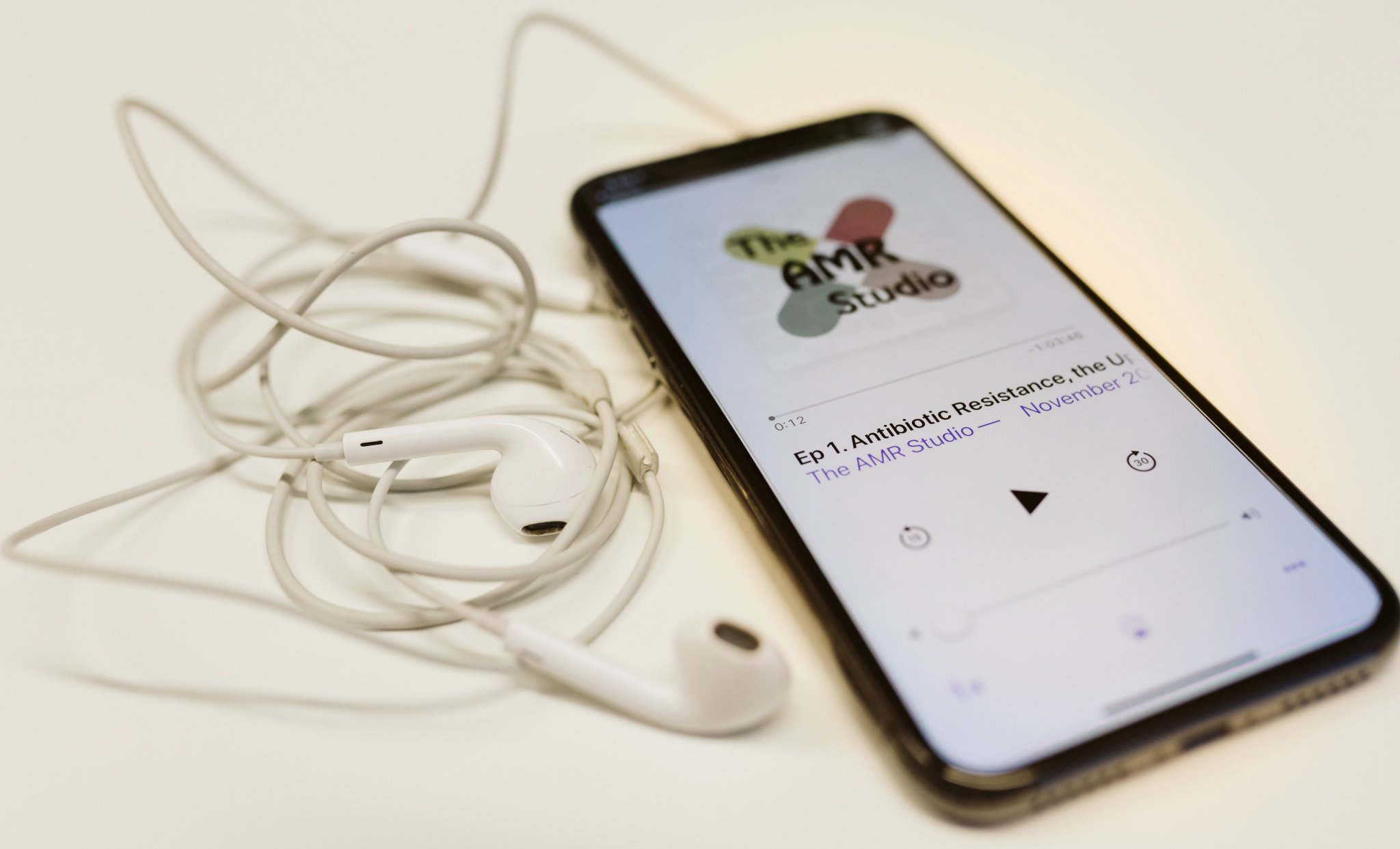 The AMR Studio – A podcast by the Uppsala Antibiotic Center