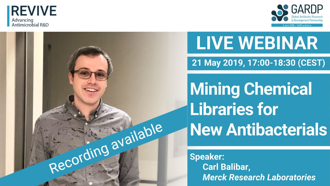 Mining Chemical Libraries for New Antibacterials