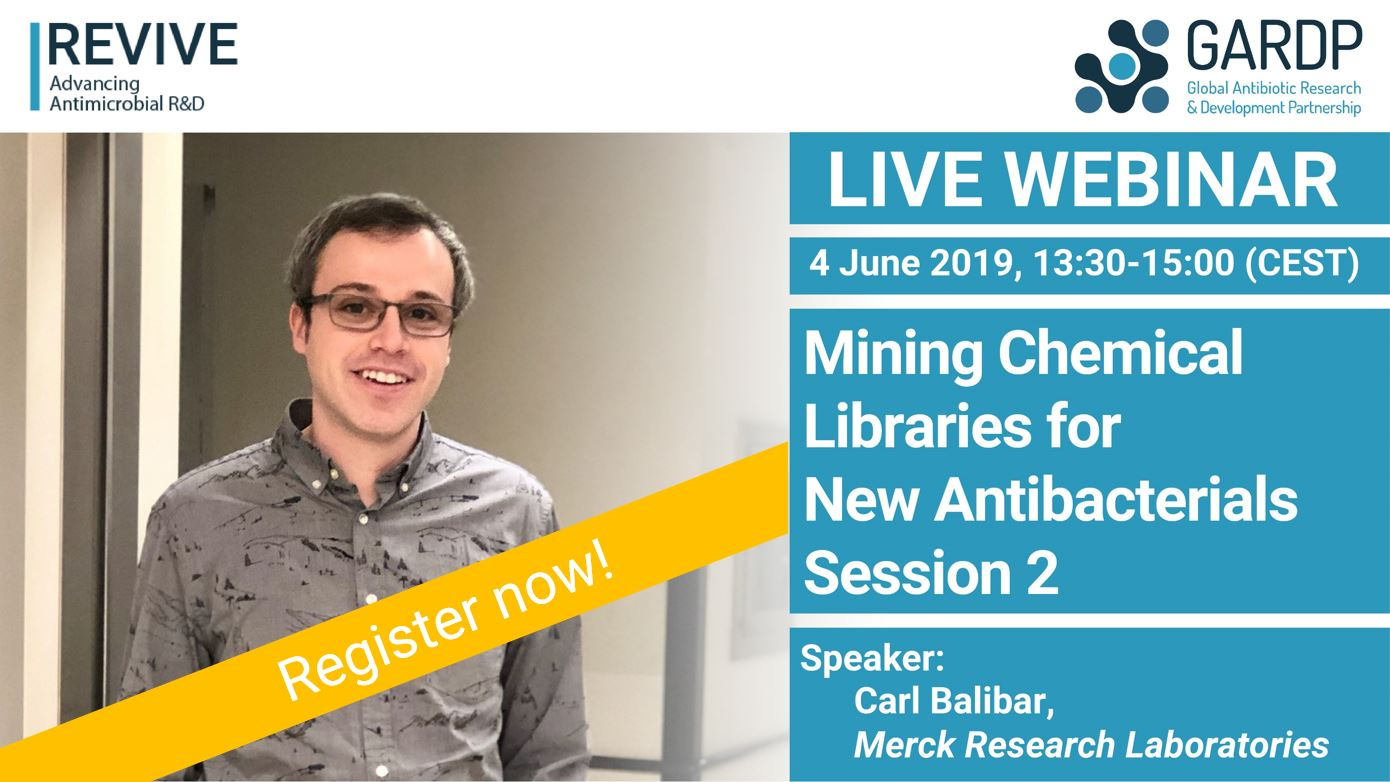 Mining Chemical Libraries for New Antibacterials – Session 2