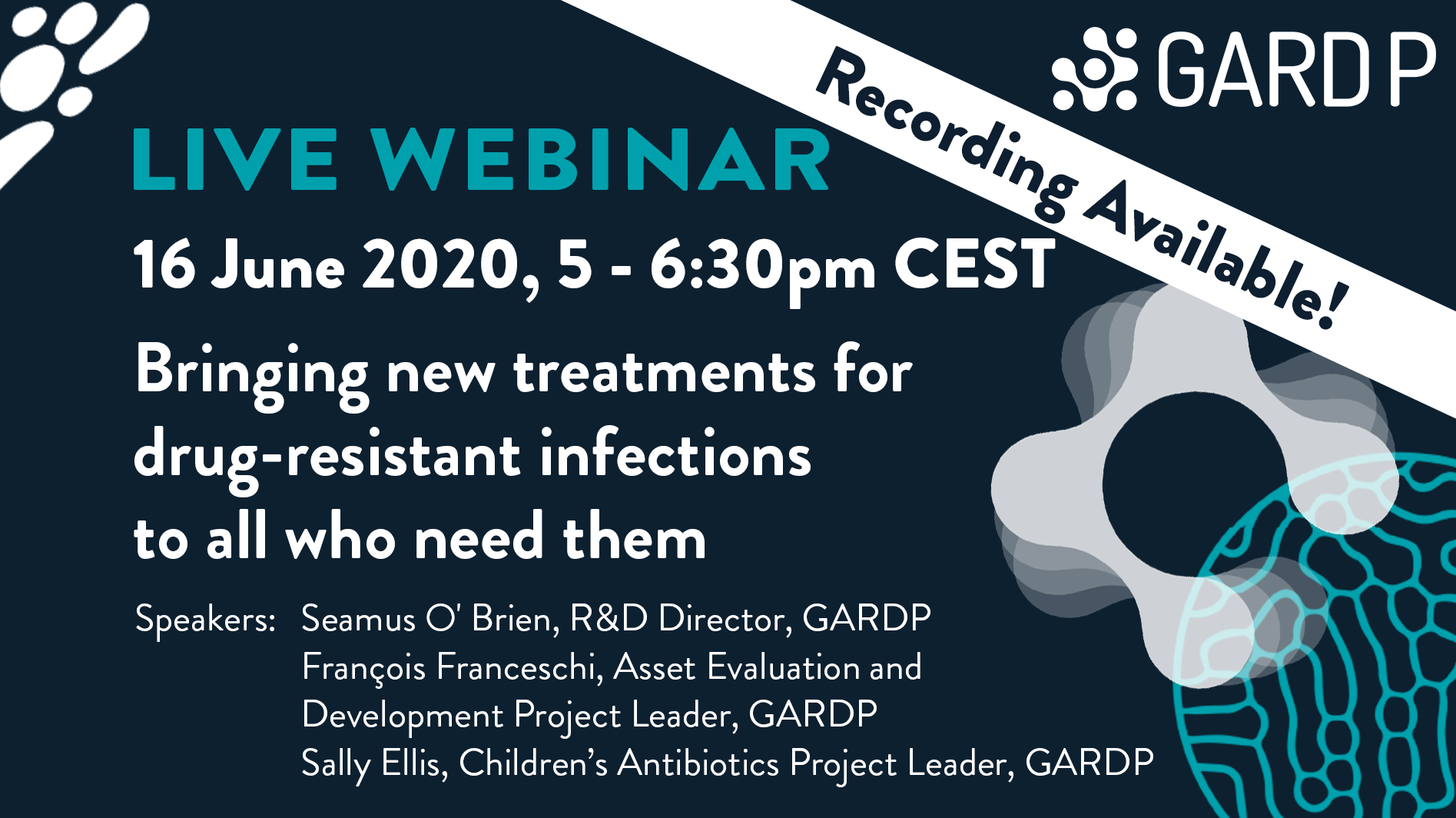GARDP: Bringing new treatments for drug-resistant infections to all who need them