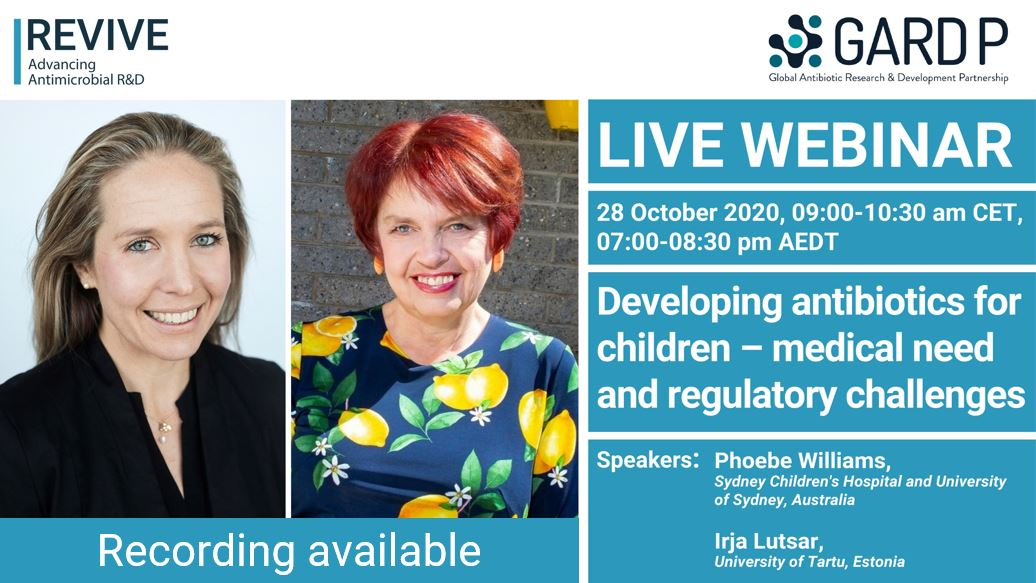 Developing antibiotics for children – medical need and regulatory challenges