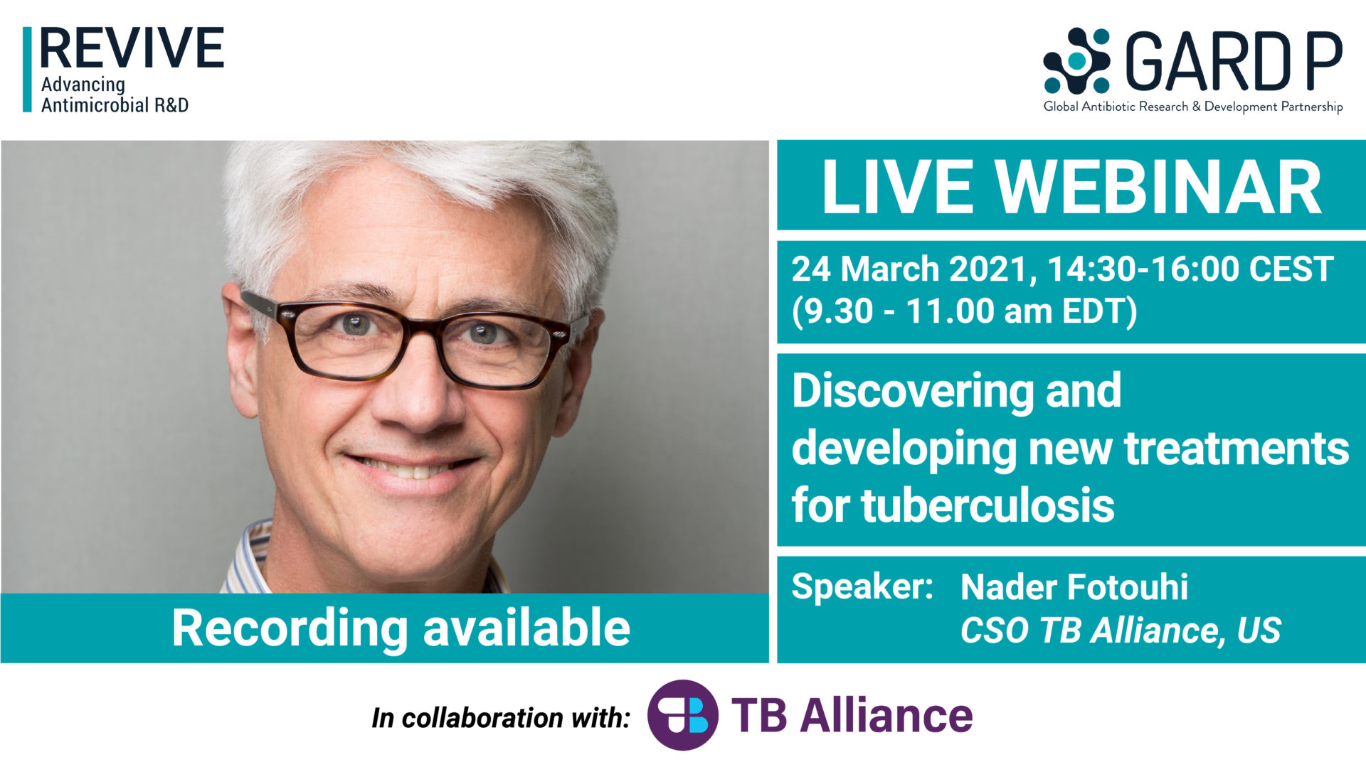 Discovering and developing new treatments for tuberculosis