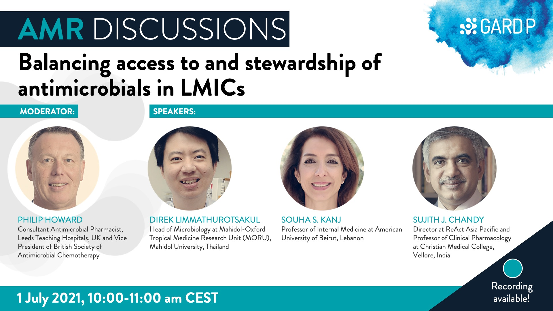 Balancing access to and stewardship of antimicrobials in LMICs