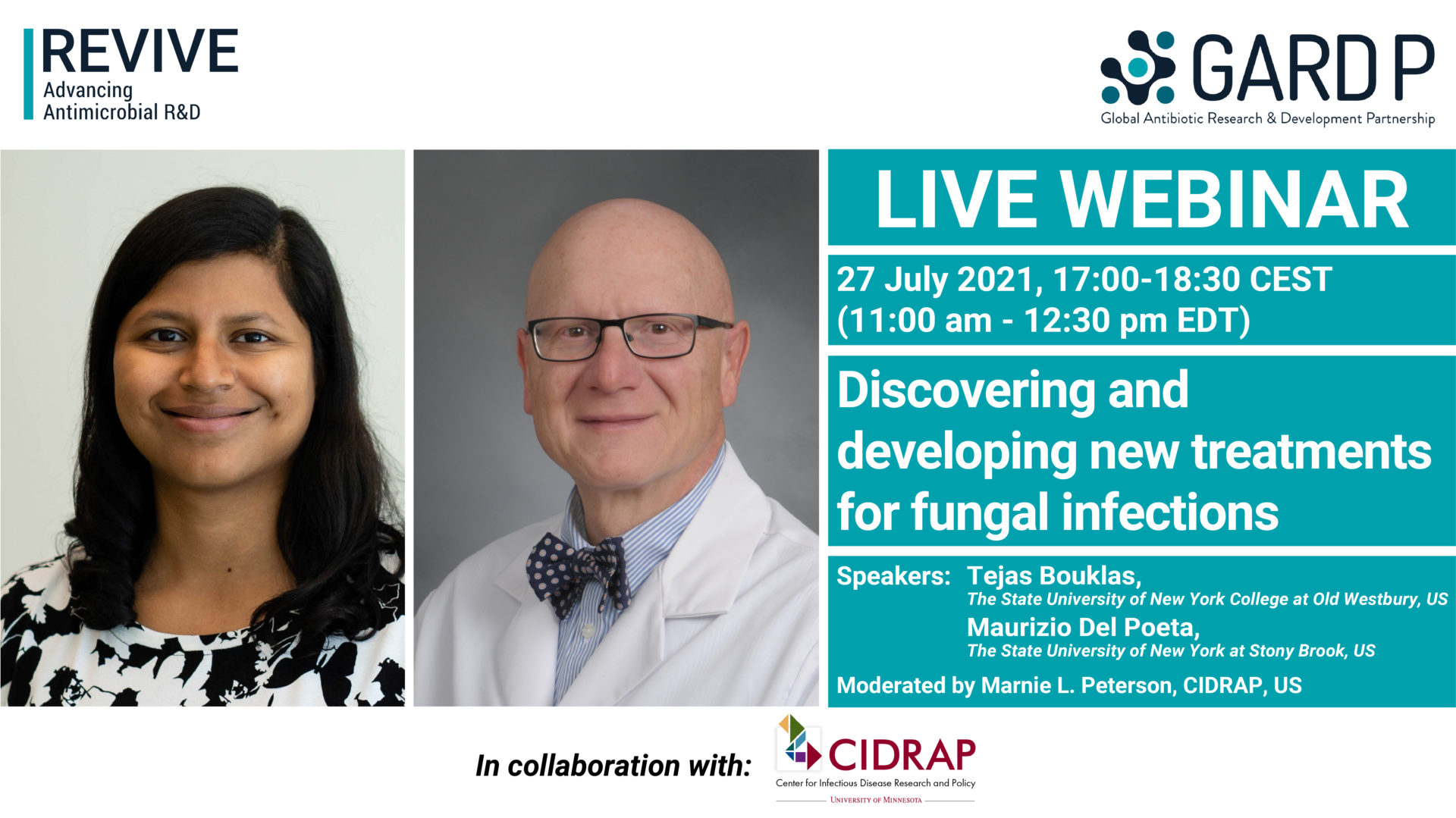 Discovering and developing new treatments for fungal infections